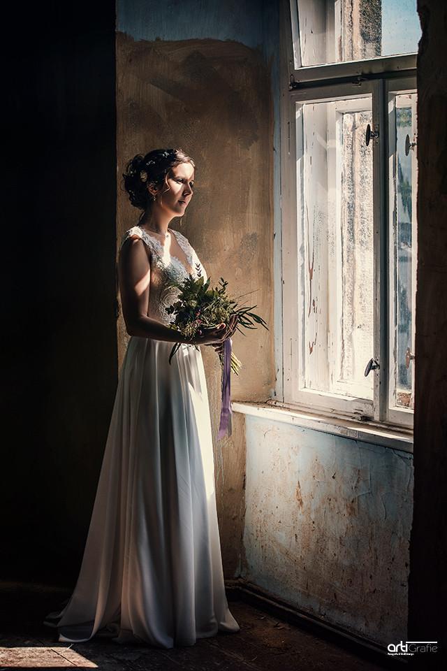 Die Braut-Kloster Anrode-Hochzeitsfotografie
