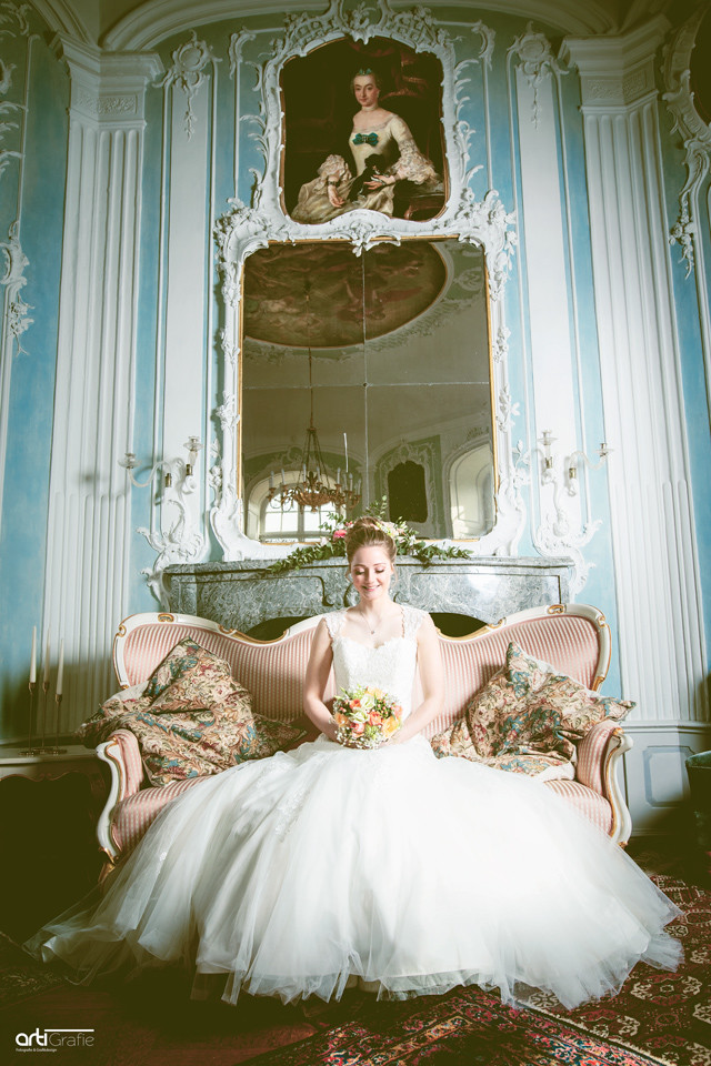 Hochzeitsfotografie-Barocksaal