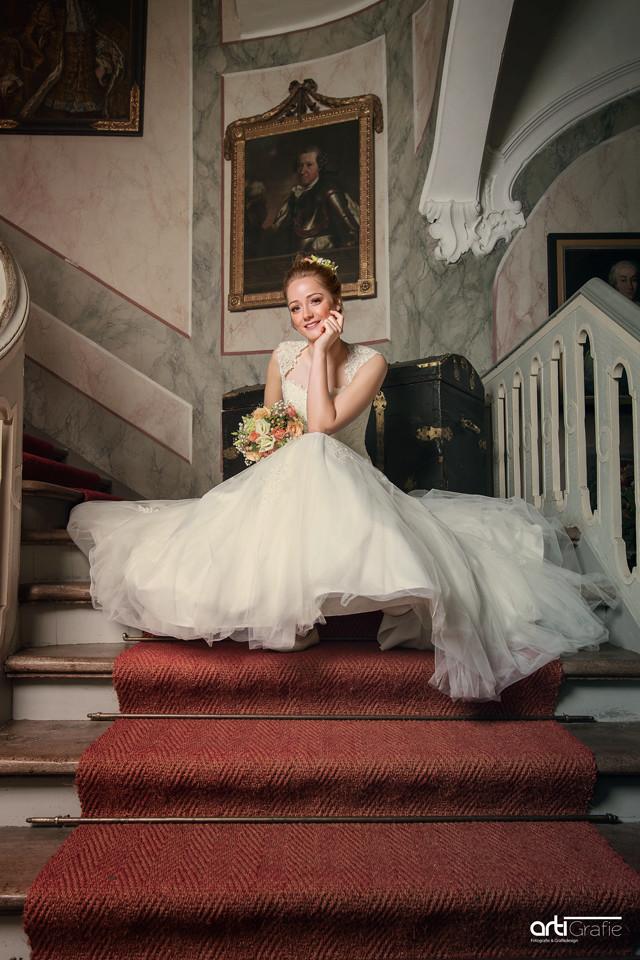 Hochzeitsfotografie-Brakel-Schloss Rheder
