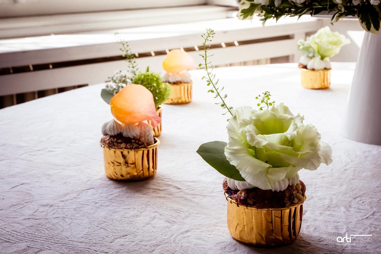 Hochzeitsfotografie-Cupcakes