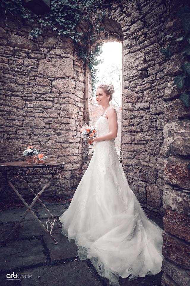 Hochzeitsfotografie-Turm-Schloss Rheder