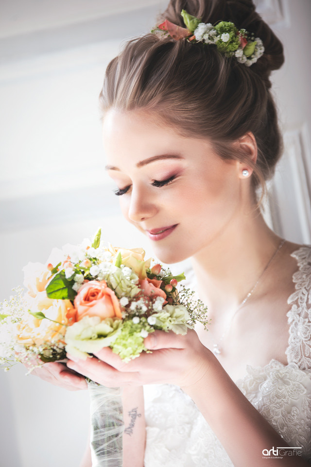 Hochzeitsfotografie-der Strauß