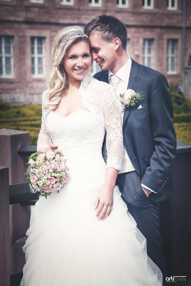 Hochzeitsfotografie Heilbad Heiligenstadt im Barockgarten