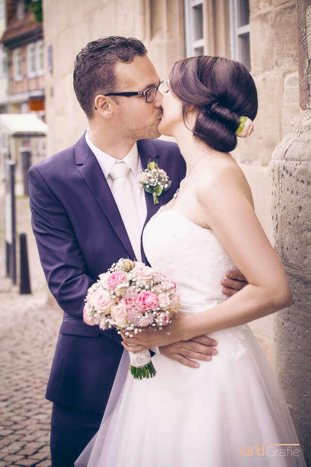 Hochzeitsfotografie Rathaus Duderstadt